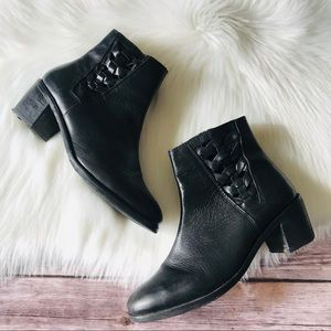 Anthropologie Seychelles Leather Booties Shoes 8